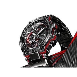 G-SHOCK Gショック CASIO カシオ タフソーラー 電波 MTG-B1000XBD-1AJF モバイルリンク機能 MT-G メンズ 腕時計 国内正規品 黒 ブラック 赤 レッド メタル|tokeiten|08