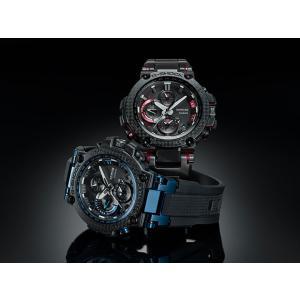 G-SHOCK Gショック CASIO カシオ タフソーラー 電波 MTG-B1000XBD-1AJF モバイルリンク機能 MT-G メンズ 腕時計 国内正規品 黒 ブラック 赤 レッド メタル|tokeiten|09
