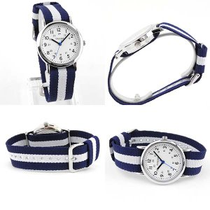 レビューを書いてネコポスで送料無料 CREPHA クレファー メンズ レディース 腕時計 白 青 赤 NATOバンド カジュアル ポイント消費|tokeiten|06
