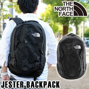 THE NORTH FACE ザ ノースフェイス CHJ4 JK3 JESTER BACKPACK ジェスター バックパック リュック 海外モデル メンズ バッグ 黒 ブラック アウトドア 通学 旅行