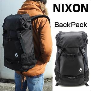 NIXON ニクソン LANDLOCK BACKPACK II C1953-000 ブラック 海外モデル メンズ 男性用 バッグ 黒 ブラック バックパック リュックサック