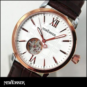 ポイント最大32倍 NEWYORKER ニューヨーカー tradman2 トラッドマン 2 機械式 自動巻き メンズ 腕時計 NY001-01 NY001.01 国内正規品|tokeiten