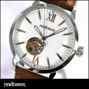 ポイント最大32倍 NEWYORKER ニューヨーカー tradman2 トラッドマン 2 機械式 自動巻き メンズ 腕時計 NY001-02 NY001.02 国内正規品|tokeiten