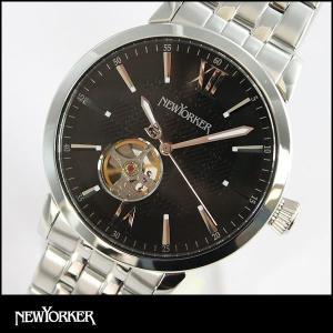 ポイント最大32倍 NEWYORKER ニューヨーカー tradman2 トラッドマン 2 機械式 自動巻き メンズ 腕時計 NY001-03 NY001.03 国内正規品|tokeiten