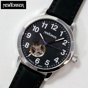 22日から最大47倍  NEWYORKER ニューヨーカー BEATS ビート ビーツ 機械式 自動巻き メンズ 腕時計 NY001-13 NY001.13 国内正規品|tokeiten
