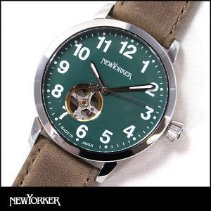 ポイント最大31倍 NEWYORKER ニューヨーカー BEATS ビート ビーツ 機械式 自動巻き メンズ 腕時計 NY001-14 NY001.14 国内正規品|tokeiten