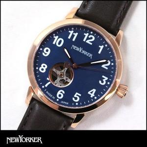 ポイント最大31倍 NEWYORKER ニューヨーカー BEATS ビート ビーツ 機械式 自動巻き メンズ 腕時計 NY001-15 NY001.15 国内正規品|tokeiten