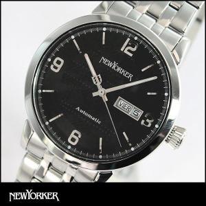 ポイント最大35倍 NEWYORKER ニューヨーカー tradman トラッドマン 機械式 自動巻き メンズ 腕時計 NY002-03 NY002.03 国内正規品|tokeiten