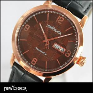 25日から最大35倍 NEWYORKER ニューヨーカー tradman トラッドマン 機械式 自動巻き メンズ 腕時計 NY002-09 NY002.09 国内正規品|tokeiten