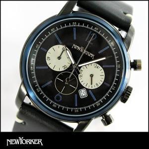 22日から最大47倍  NEWYORKER ニューヨーカー NYCminute ニューヨークミニッツ メンズ 腕時計 NY006-00N NY006.00N 国内正規品|tokeiten