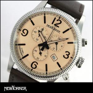 NEWYORKER ニューヨーカー coinedge コインエッジ クオーツ メンズ 腕時計 時計 ウォッチ NY008-02N NY008.02N 国内正規品|tokeiten