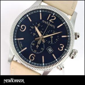 ポイント最大31倍 NEWYORKER ニューヨーカー coinedge コインエッジ メンズ 腕時計 NY008-05N NY008.05N 国内正規品|tokeiten