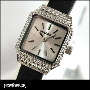 22日から最大47倍  NEWYORKER ニューヨーカー SQUARE-AGE スクエア エイジ レディース 腕時計 NY009-03 NY009.03 国内正規品|tokeiten