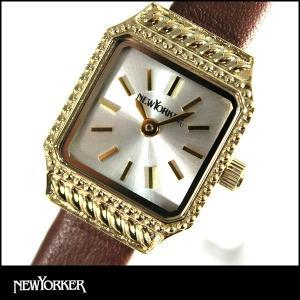 22日から最大47倍  NEWYORKER ニューヨーカー SQUARE-AGE スクエア エイジ レディース 腕時計 NY009-07 NY009.07 国内正規品|tokeiten