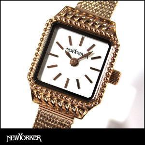 22日から最大47倍  NEWYORKER ニューヨーカー SQUARE-AGE スクエア エイジ レディース 腕時計 NY009-09 NY009.09 国内正規品|tokeiten