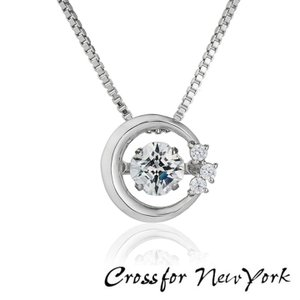 Crossfor New York クロスフォーニューヨーク ダンシングストーン ネックレス ペンダ...
