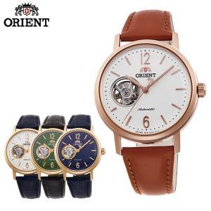 ORIENT オリエント クラシック 機械式 メカニカル 自動巻き メンズ 腕時計 国内正規品 ネイビー グリーン ゴールド|tokeiten