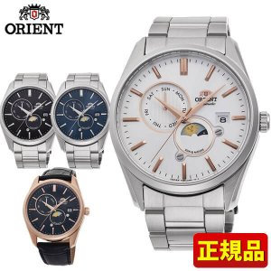 CONTEMPORARY コンテンポラリー ORIENT オリエント 機械式 メンズ 腕時計 国内正規品 ブラック ホワイト ピンクゴールド  ローズゴールド シルバー レザー tokeiten