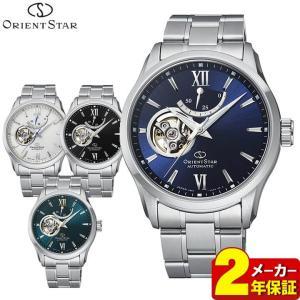 ORIENT オリエント セミスケルトン 機械式 メカニカル 自動巻き メンズ 腕時計 国内正規品 ブラック ネイビー グリーン シルバー|tokeiten