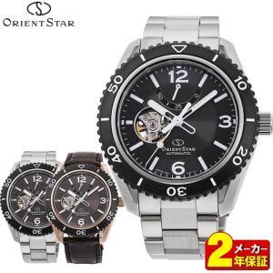 先行予約受付中 ORIENT STAR オリエントスター ORIENT オリエント 機械式 スポーツ セミスケルトン レザー メンズ 腕時計 国内正規品|tokeiten
