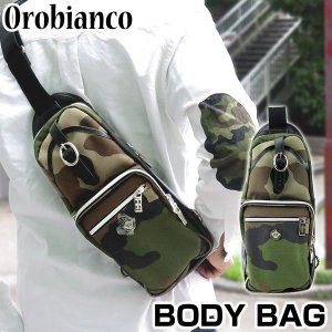 OROBIANCO オロビアンコ ボディバッグ ショルダーバッグ メンズ ANNIBALE-F アンニバル 迷彩 カモフラ|tokeiten