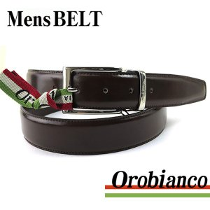 OROBIANCO オロビアンコ BETTINO ベルト メンズベルト レザー ダークブラウン 茶|tokeiten