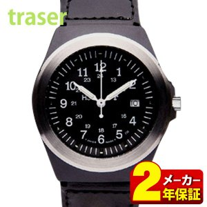 21日まで最大36倍 TRASER トレーサー P5900.506.33.11 TYPE3 Black タイプ3 ブラック ミリタリー メンズ 腕時計 正規品|tokeiten