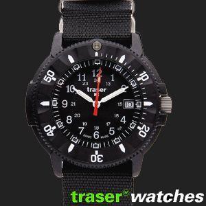 ポイント最大32倍 全品トレーサー TRASER トレーサー ミリタリー ブラック コード ブルー P6508.400.37.01 tokeiten