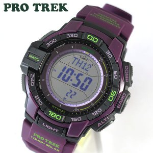 CASIO カシオ PRO TREK プロトレック メンズ 腕時計 PRG-270-6A タフソーラー パープル アウトドア|tokeiten