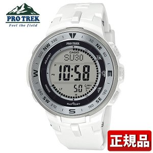 PRO TREK プロトレック CASIO カシオ タフソーラー PRG-330-7JF デジタル メンズ レディース 腕時計 国内正規品 黒 ブラック 白 ホワイト 銀 シルバー ウレタン|tokeiten