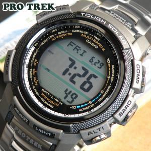 プロトレック PRO TREK PROTREK カシオ CASIO PRW-2000T-7 ソーラー 電波 チタン メンズ 腕時計 プロトレック|tokeiten
