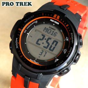 BOX訳あり プロトレック PRO TREK PROTREK カシオ CASIO 電波 ソーラー PRW-3000-4 メンズ 腕時計 プロトレック|tokeiten