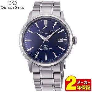 ORIENT STAR オリエントスター 機械式 メカニカル 自動巻き RK-AF0004L クラシック メンズ 腕時計 国内正規品 ネイビー|tokeiten