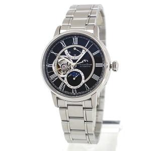 セルベット付 ORIENT STAR オリエントスター ムーンフェイズ 機械式 メカニカル 自動巻き RK-AM0004B 国内正規品 メンズ 腕時計 ブラック|tokeiten|02