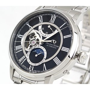セルベット付 ORIENT STAR オリエントスター ムーンフェイズ 機械式 メカニカル 自動巻き RK-AM0004B 国内正規品 メンズ 腕時計 ブラック|tokeiten|03