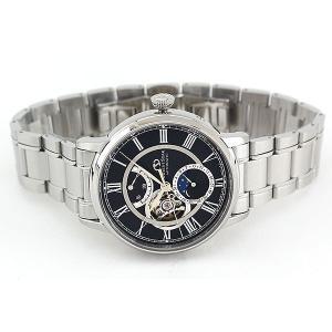 セルベット付 ORIENT STAR オリエントスター ムーンフェイズ 機械式 メカニカル 自動巻き RK-AM0004B 国内正規品 メンズ 腕時計 ブラック|tokeiten|06