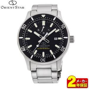 ORIENT STAR オリエントスター ORIENT オリエント 機械式 RK-AU0301B スポーツ ダイバー メンズ 腕時計 国内正規品 黒 ブラック シルバー|tokeiten