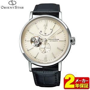 ORIENT STAR オリエントスター メカニカル 自動巻き RK-AV0002S クラシック セミスケルトン メンズ 腕時計 国内正規品 ブラック シルバー|tokeiten