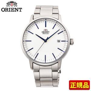 先着8%OFFクーポン ORIENT オリエント 機械式 メカニカル 自動巻き RN-AC0E02S コンテンポラリー メンズ 腕時計 国内正規品 白 ホワイト 銀 シルバー tokeiten