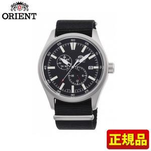 先着8%OFFクーポン SPORTS スポーツ ORIENT オリエント 機械式 メカニカル 自動巻き RN-AK0404B メンズ 腕時計 国内正規品 黒 ブラック 銀 シルバー ナイロン tokeiten