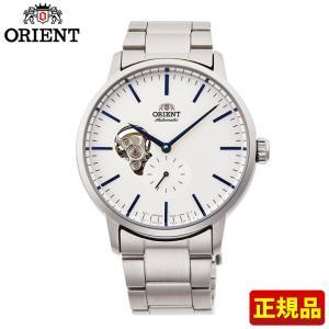 先着8%OFFクーポン ORIENT オリエント 機械式 メカニカル 自動巻き RN-AR0102S コンテンポラリー メンズ 腕時計 国内正規品 白 ホワイト 銀 シルバー tokeiten