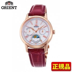 ORIENT オリエント クラシック SUN&MOON サン&ムーン RN-KA0001A 国内正規品 レディース 腕時計 白 ホワイト 革ベルト レザー|tokeiten