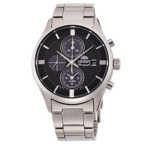 先着300円OFFクーポン オリエント コンテンポラリー ライトチャージ RN-TY0002B クロノグラフ メンズ 腕時計 国内正規品 黒 ブラック 銀 シルバー|tokeiten|02