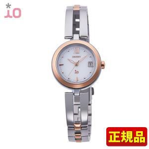 ORIENT オリエント io イオ ナチュラル&プレーン レディース 腕時計 ウォッチ シルバー ピンクゴールド RN-WG0002S ソーラー 国内正規品|tokeiten