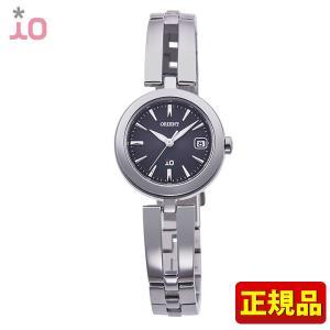 ポイント最大26倍 ORIENT オリエント io イオ ナチュラル&プレーン レディース 腕時計 ウォッチ シルバー ブラック RN-WG0004B ソーラー 国内正規品|tokeiten