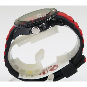 NESTA BRAND ネスタブランド メンズ レディース ユニセックス 腕時計 ブラック×レッド RP40RB|tokeiten|04