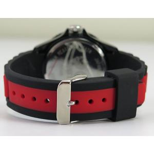 NESTA BRAND ネスタブランド メンズ レディース ユニセックス 腕時計 ブラック×レッド RP40RB|tokeiten|05