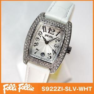 フォリフォリ Folli Follie 腕時計 レディース ホワイト|tokeiten
