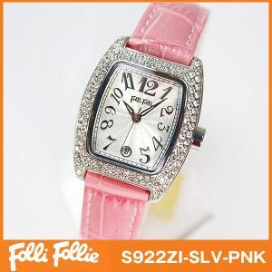 フォリフォリ Folli Follie 腕時計 レディース ピンク|tokeiten