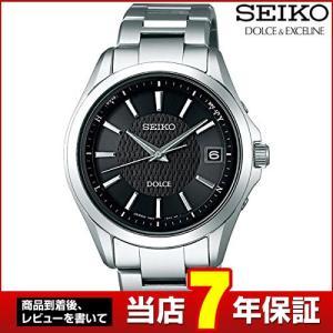 ポイント最大26倍 セイコー ドルチェ&エクセリーヌ 腕時計 メンズ SEIKO DOLCE&EXCELINE SADZ177 国内正規品 ソーラー ブラック チタン tokeiten